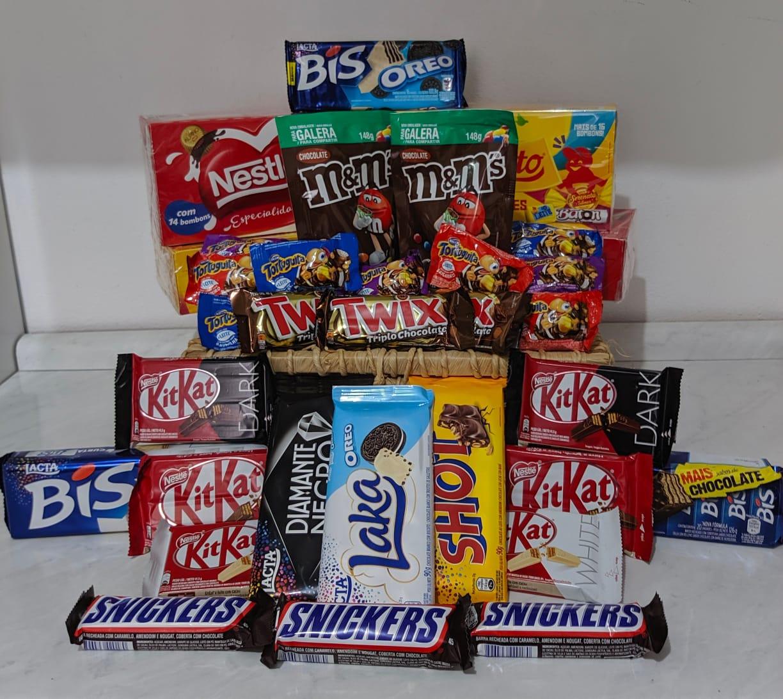 Foto  - Cesta de chocolates