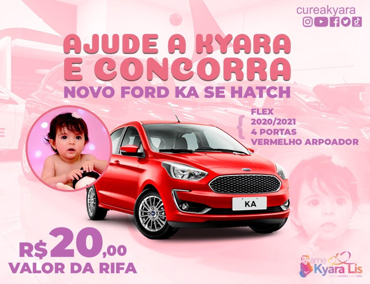 Foto  - @cureakyara - Novo Ford Ka SE Hatch