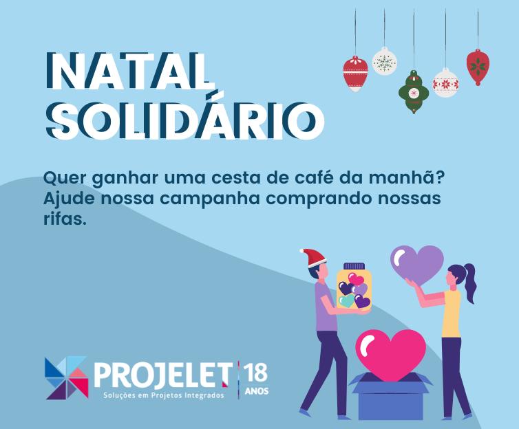 Foto  - Natal Solidário - Projelet