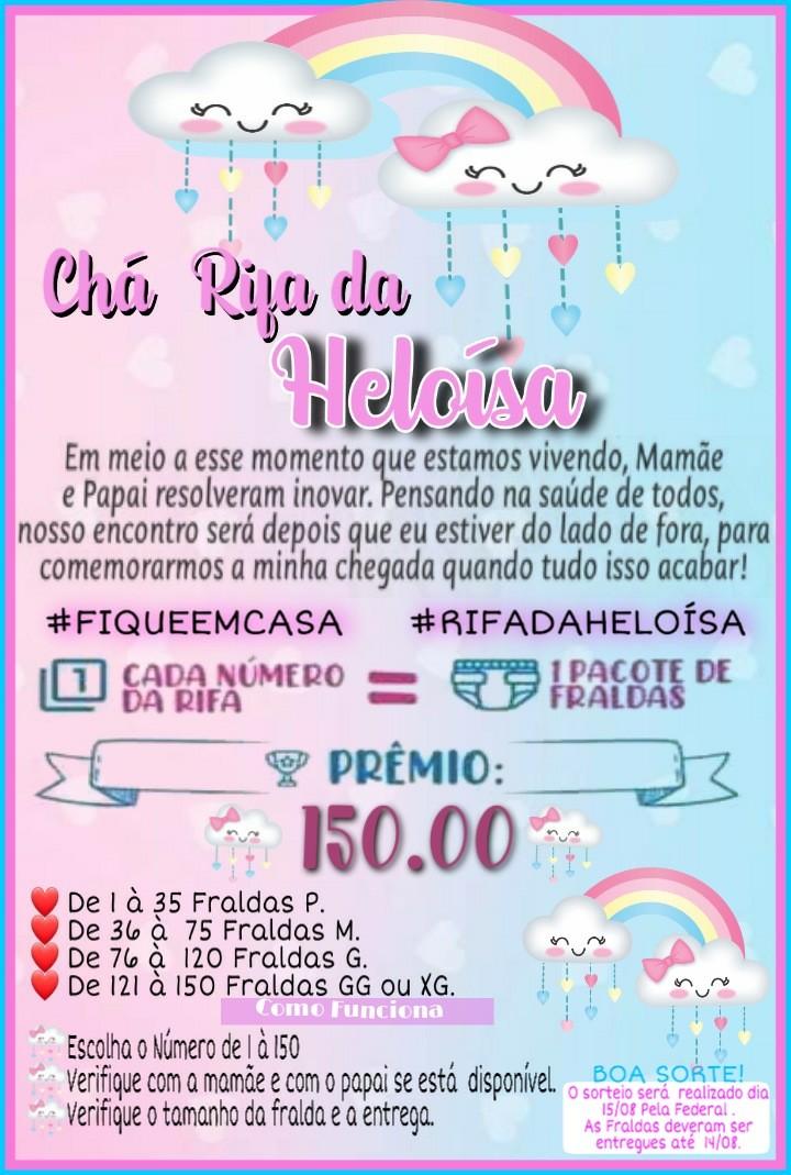 Foto  - Chá Rifa da Heloísa