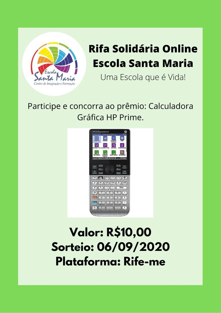 Foto  - Rifa Solidária Escola Santa Maria - Igarassu/PE
