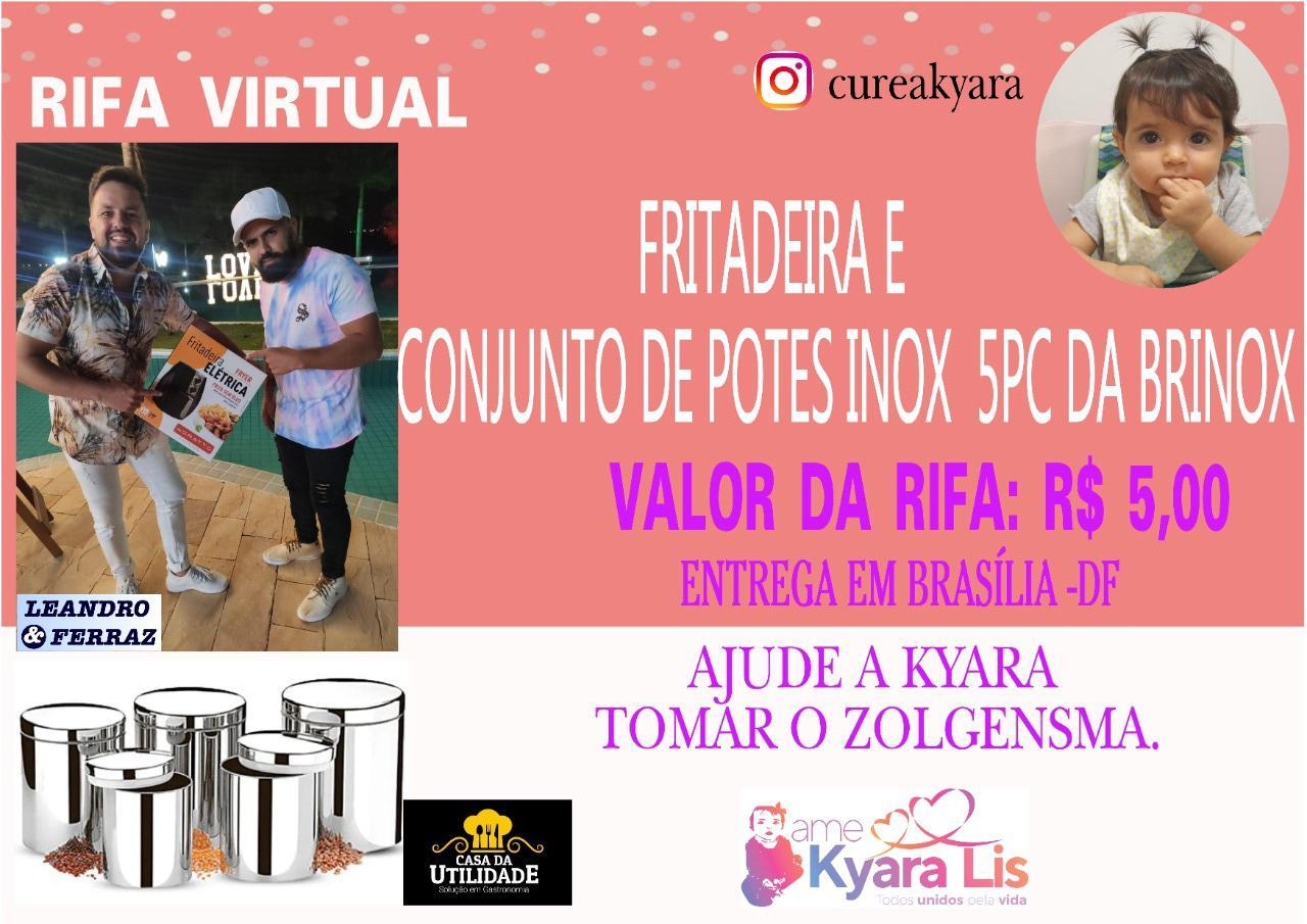 Foto  - @cureakyara - Conjunto de Potes