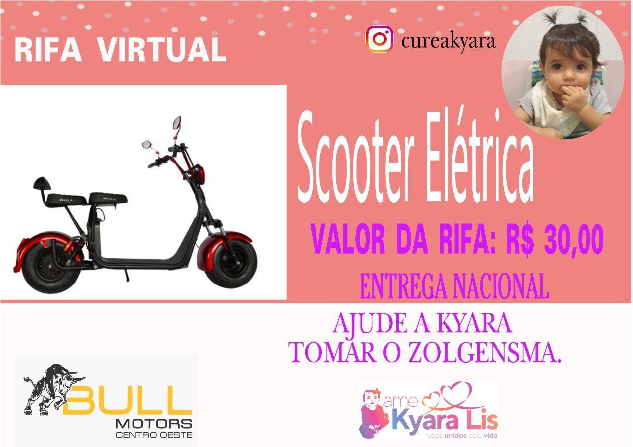 Foto  - @cureakyara - Scooter Eletrico Ciclo City Veloce