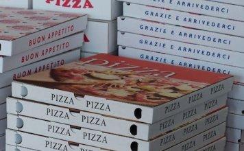 dove si butta cartone pizza
