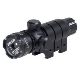 Ade Advanced Optics Adjusted Rifle Scope Sight with 2 Mounts Tactical Laser Dot, Green