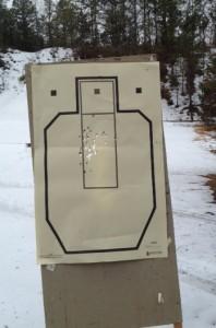 CSAT standards on a CSAT target with a Glock 36