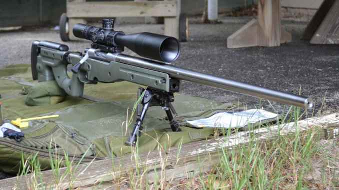 Building a Custom Bolt Action  223 Rifle with a Blackheart