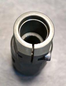 Rear view of FTE brake.