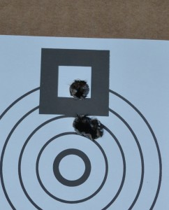 Representative group at 100 yards with 168 Federal Gold Medal.