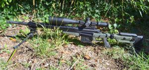 Custom 338 Lapua Magnum Deviant Action 8