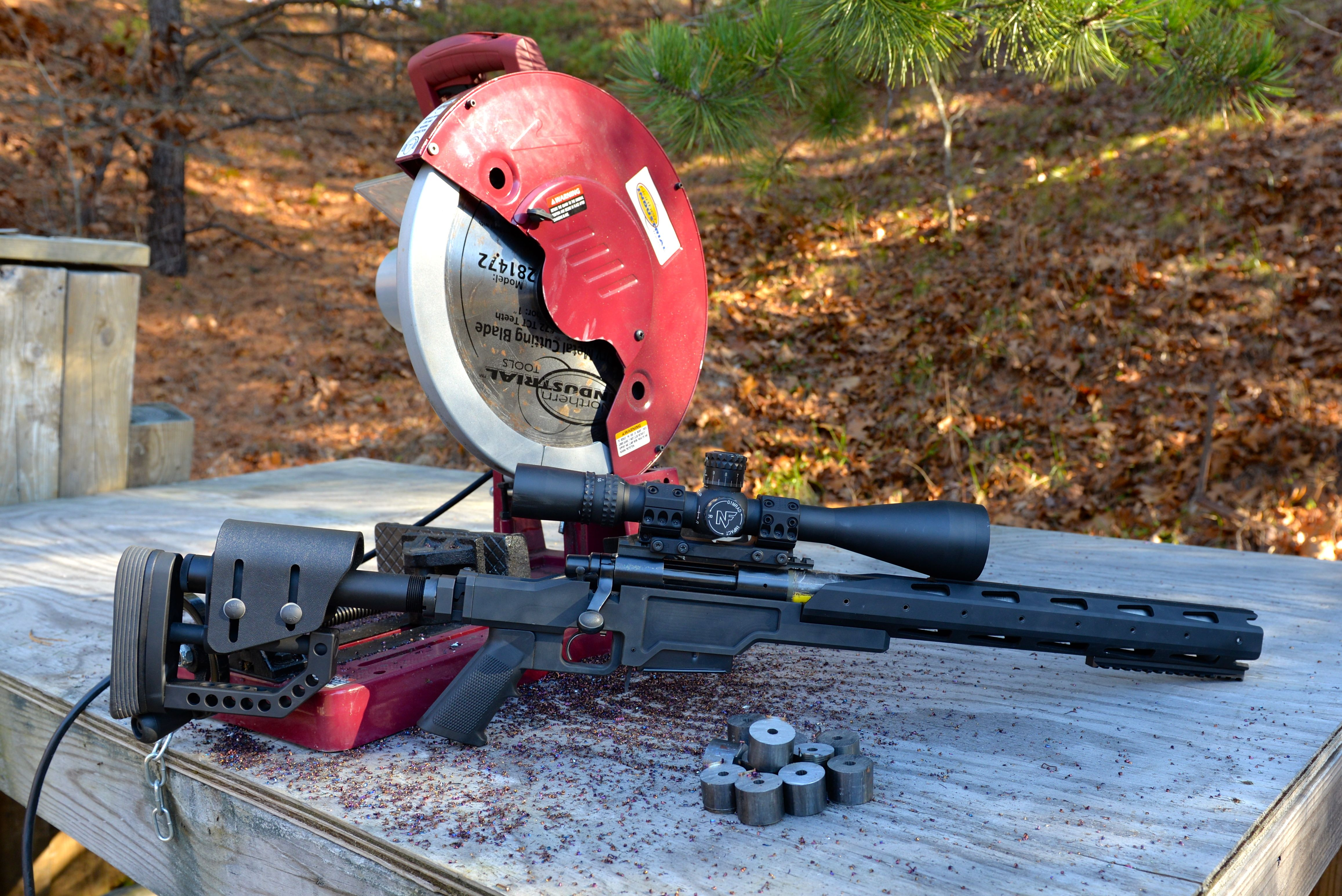 308 Winchester / 7 62x51mm NATO: Barrel Length versus