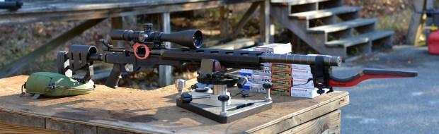 308 barrel range set up