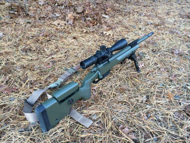 M700 308 Winchester 22 barrel surefire nightforce spuhr right rear 2