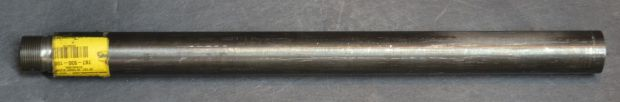 This unturned Shilen blanks has already been threaded and chambered for 308 Winchester.  It is 16.5 inches long.
