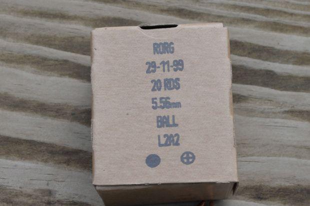 British 5.56 L2A2 box 2