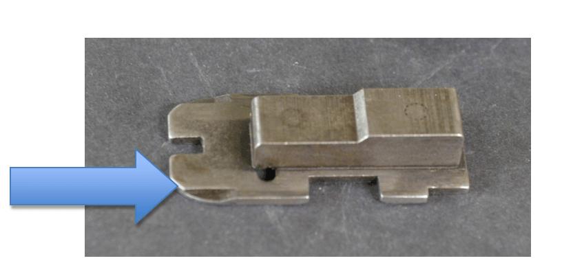 870 FLEXITAB  slide assembly