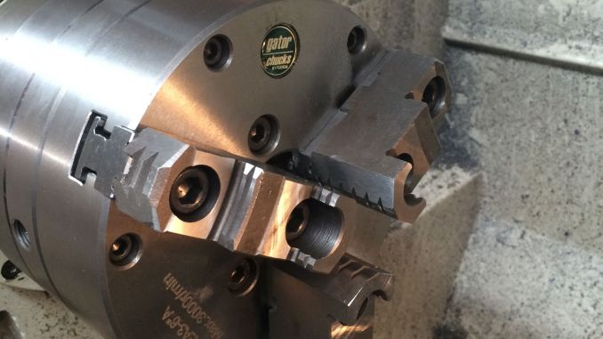 Grizzly 4003G Gunsmith's lathe chuck issue resolved