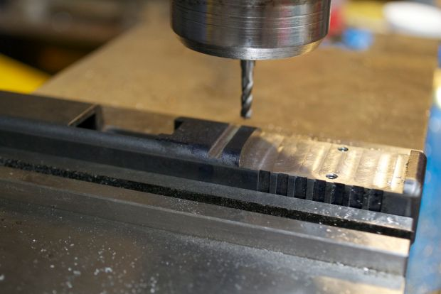 milling out for glock dovetail