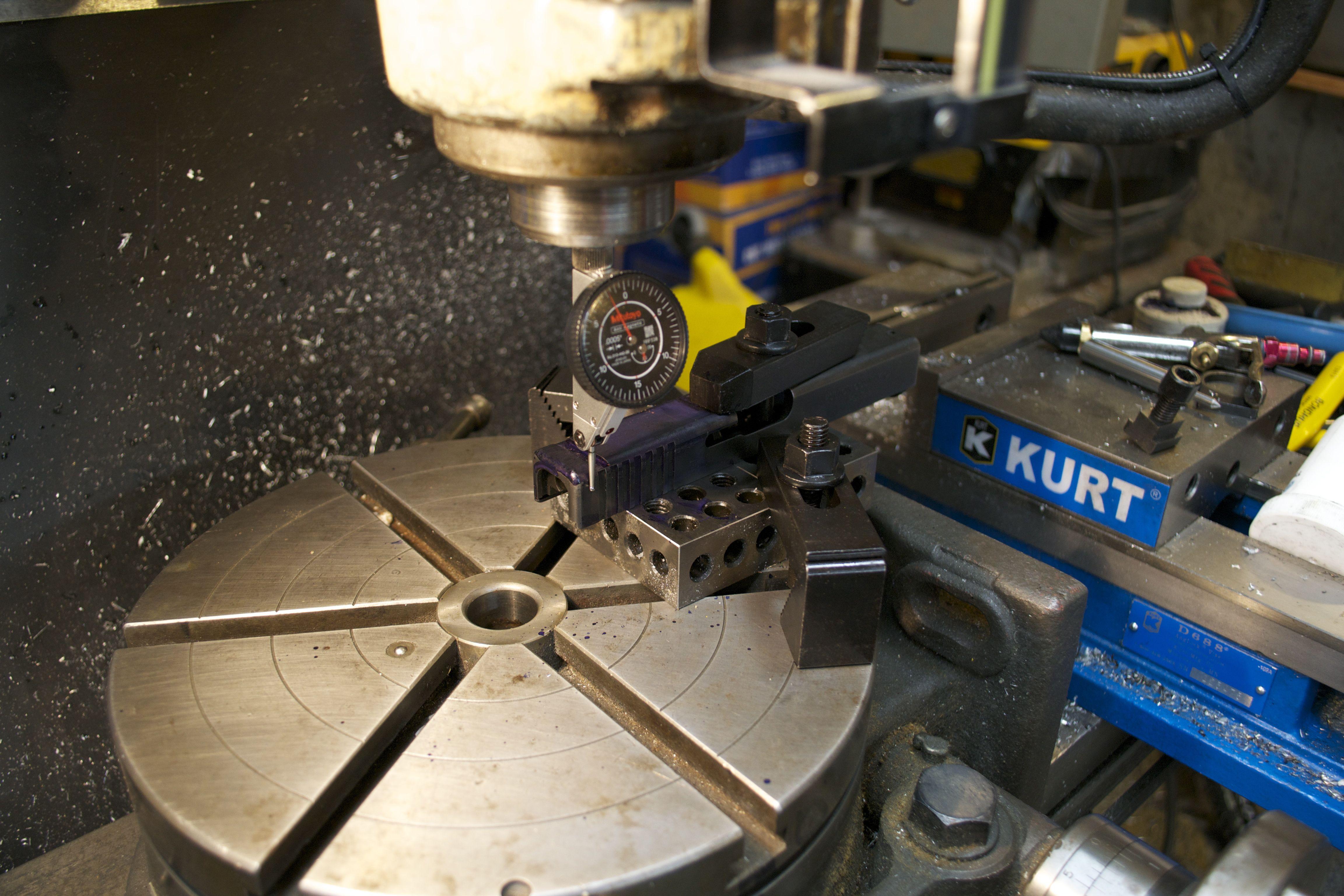 Machining a Glock slide for a Trijicon RMR cut