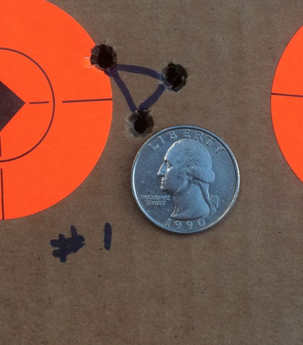 best fire form group at 100 yards .652 inches