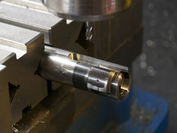 finishing recess in bolt for m16 extractor