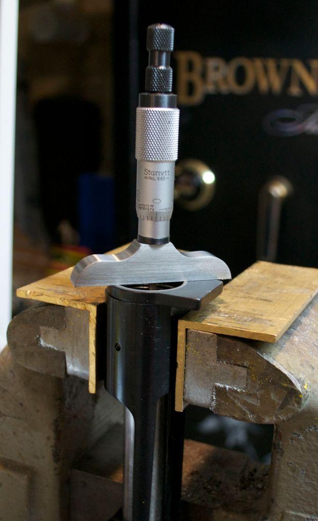 measuring model seven for barrel