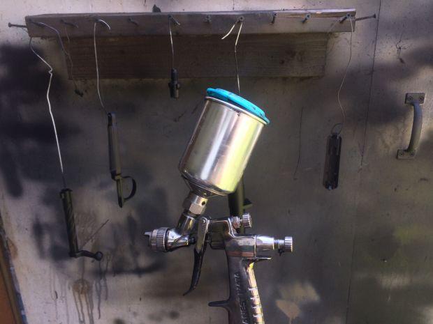 mini HVLP spray gun