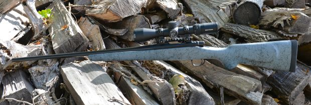 model seven 7 cutsom rifle left side