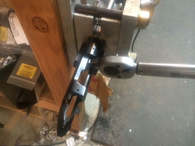 torquing on new barrel