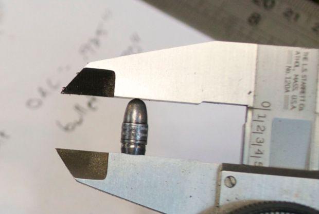 10:22 measuring bullet length