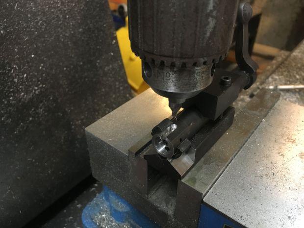 700 SAKO extractor center drill hole