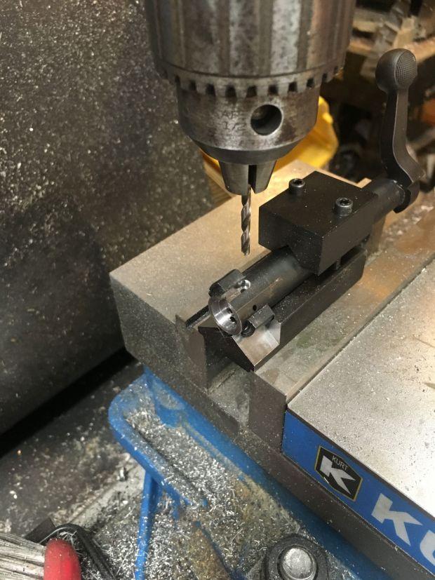 700 SAKO extractor drill hole