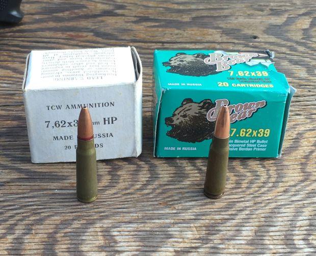 ammo samples 2 M700 7.62x39