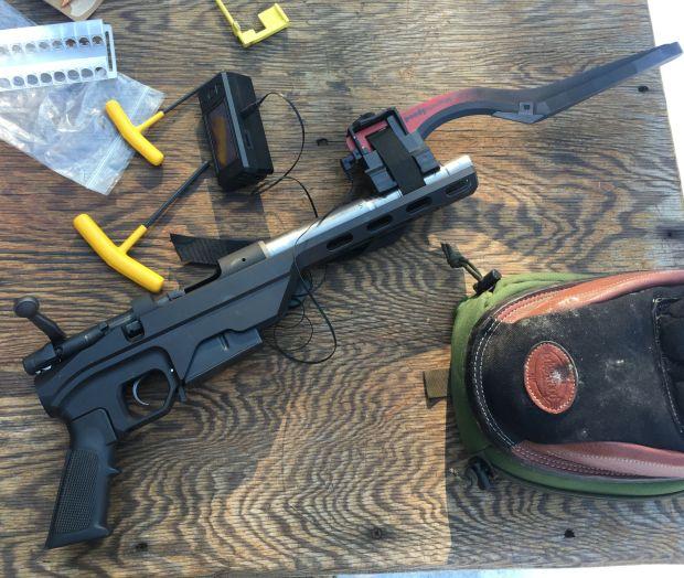 short test gun308 short barrel velocity