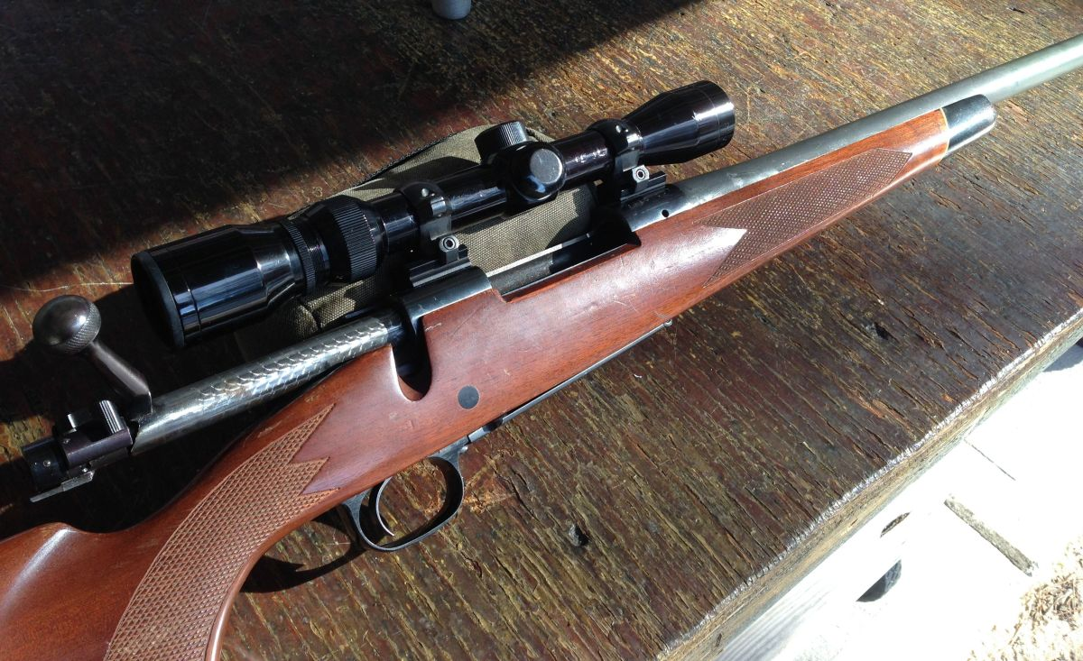 Rebarreling a winchester model 70 for Mobel 70 reduziert