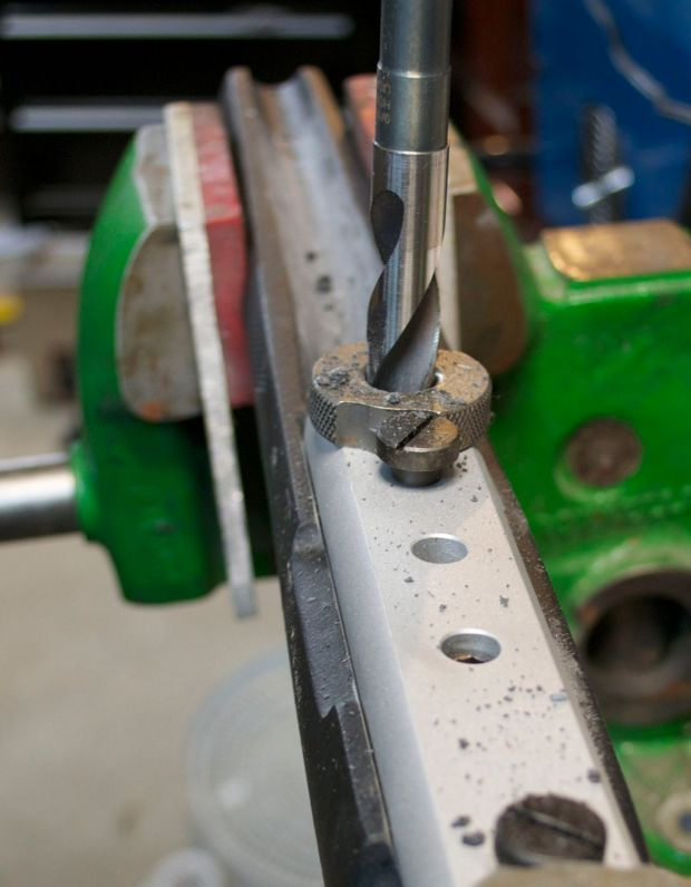 pillar bedding drilling front