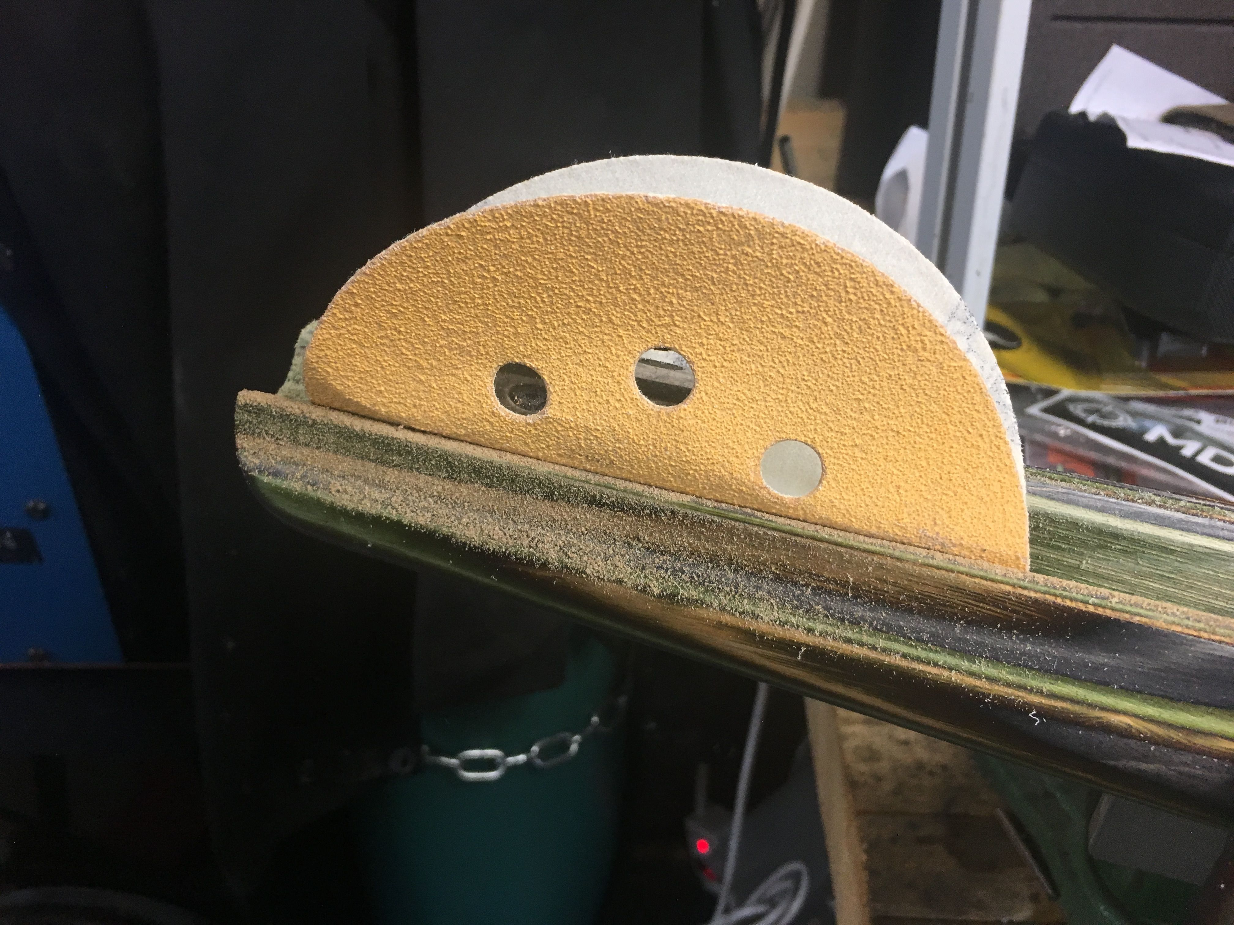 custom mossberg mvp sanding channel