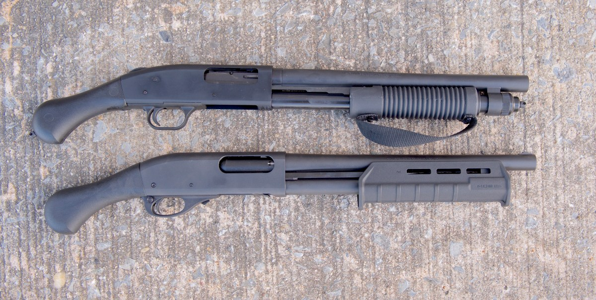 Review: Mossberg 590 Shockwave vs. the Remington Model 870 TAC-14