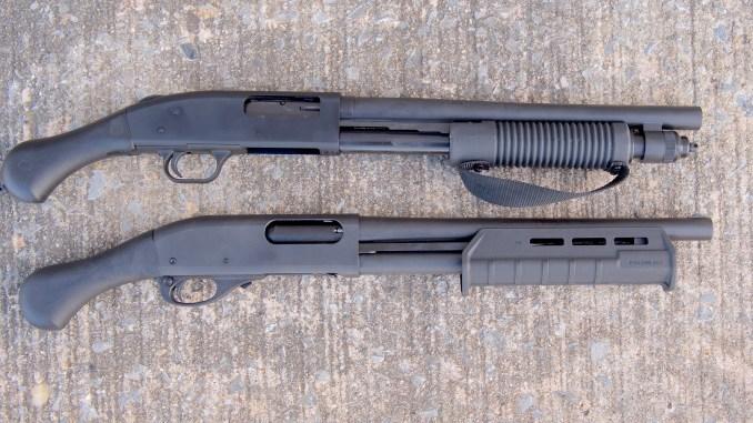 Review Mossberg 590 Shockwave Vs The Remington Model 870 TAC 14