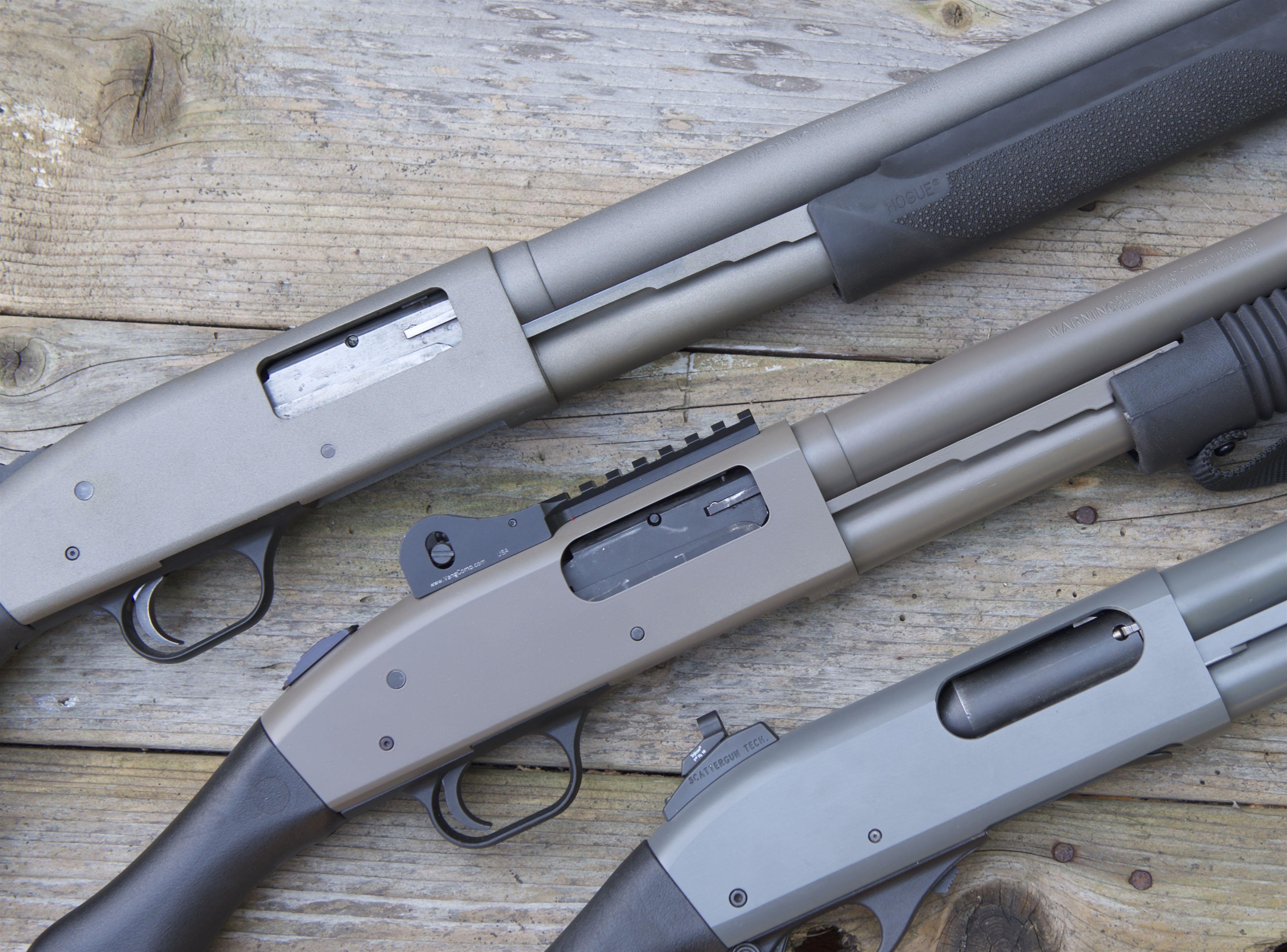 remington 870 v mossberg 500 v mossberg 590 comparative design rh rifleshooter com Mossberg 500 Disassembly Guide-Free Mossberg 500A 12 Gauge Manual