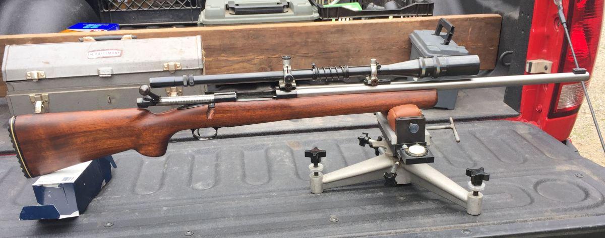 Winchester 70, 30-06 Retro Build
