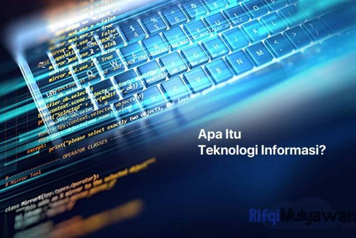 Gambar Apa Itu Pengertian Teknologi Informasi