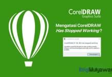 Gambar Cara Mengatasi Corel Draw Has Stopped Working Di Windows 10 8 Dan 7 Untuk Semua Versi Corel Yaitu X4 X5 X6 X7 X8 Serta X9
