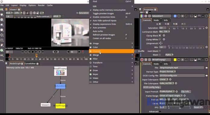 Gambar Screenshoot Aplikasi Natron