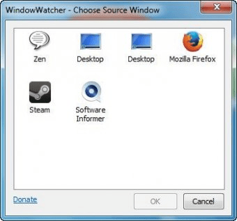 Gambar Screenshot Software Kaca Pembesar WindowWatcher