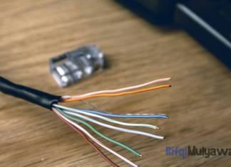 Ilustrasi Gambar Cara Crimping Rj45 Apa Itu Rj45 Apa Itu Kabel Straight Dan Cross