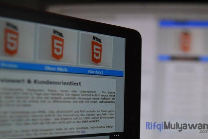 Ilustrasi Gambar Pengertian HTML5