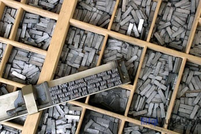 Ilustrasi Gambar Pengertian Leading dalam Typography