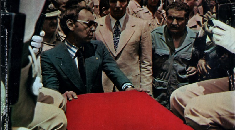 People's resistance to the coloniser and an army coup against a corrupt kingship