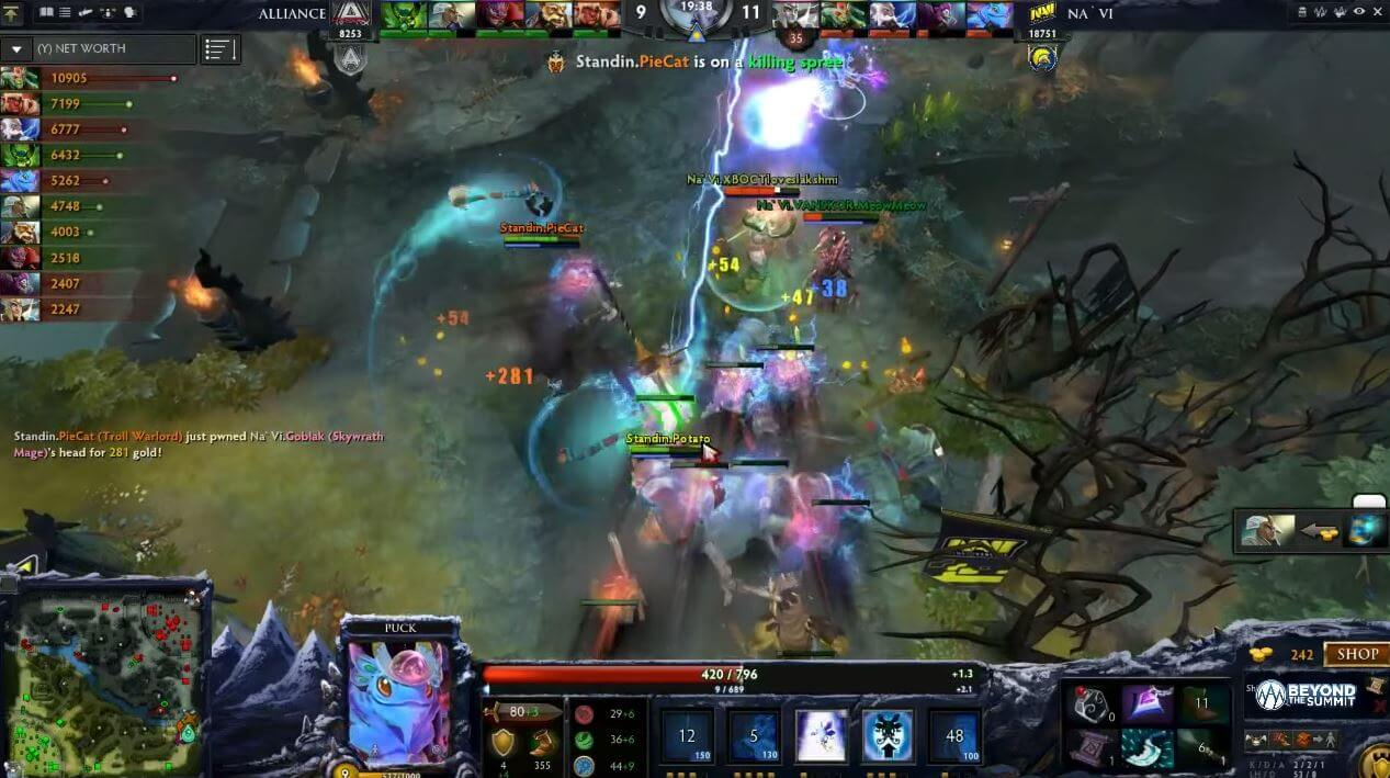 dota 2 matches with